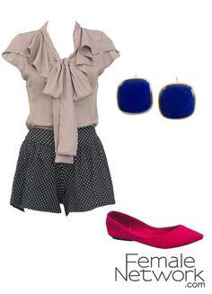 Very Zooey Deschanel in New Girl. I'd wear this.