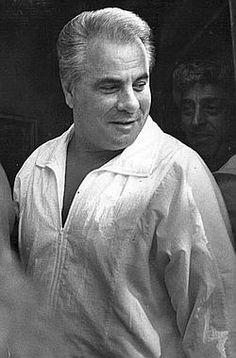 "His Dad: John ""Dapper Don"" Gotti Sr. — Former head of Gambino organized crime family. Died at age June in federal prison in Springfield, Mo. Real Gangster, Mafia Gangster, Carlo Gambino, Mafia Crime, Mafia Families, Steven Seagal, John Junior, Father John, Al Capone"