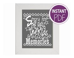 Check out this item in my Etsy shop https://www.etsy.com/uk/listing/218864942/commercial-use-papercut-template-excuse