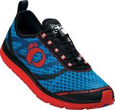 Pearl Izumi EM Tri N2 Triathlon Schuhe blau/rot 2015 - http://on-line-kaufen.de/pearl-izumi/pearl-izumi-em-tri-n2-triathlon-schuhe-blau-rot