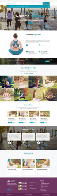 Hello, Everyone our best Yogazone website template is Ready to use this is a clean and mobile responsive HTML template, very easy to customize according to You.   The Yogazone template is loaded with tons of shortcodes, 5+ headers, 8+Color Theme Styles, Parallax effect much more.