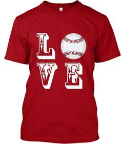 Limited-Edition LOVE Baseball T-Shirts and Hoodies  | #Teespring