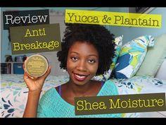 Review | Shea Moisture Yucca & Plantain Anti Breakage Strengthening Masque (w/Demo) - YouTube