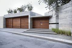 Our Top 10 Modern house designs – Modern Home Modern House Facades, Facade House, Concrete, Garage Doors, Exterior, Contemporary, Landscape, Outdoor Decor, Home Decor