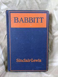 "Sinclair Lewis: ""Babbitt"""