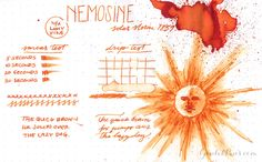 Nemosine Ink - Solar Storm 1859