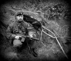 British commando impression from the Falklands war