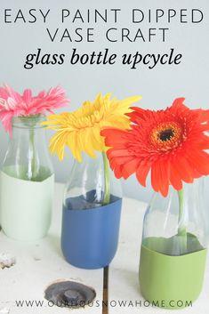 Easy glass bottle up