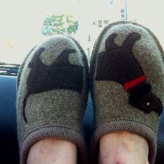Wiener dog shoes!