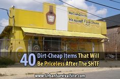 Next time you visit the dollar store, walk down each aisle and start stocking up on all the little things that will make life much easier after SHTF.