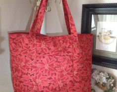 Extra large Christmas tote bag by leahssewingcreations. Explore more products on http://leahssewingcreations.etsy.com
