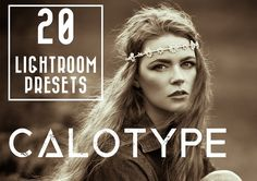 20 Calotype LR Presets by LOU&MARKS on @creativemarket