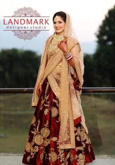 #Brideoftheday..!! #Landmarkdesignerstudio #Panchkula #Elante #Chandigarh #NorthCountryMall #Mohali