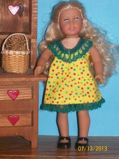 "American Girl Mini Doll Clothes.  (6 1/2"")  Available on Etsy by Doll Clothes Forever  $4.99"