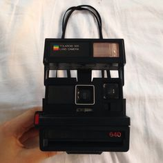 Polaroid 600 Land Camera Gently used. There are some white scuffs that can be cleaned. No film comes with this camera just the Polaroid itself. Price is negotiable. Other