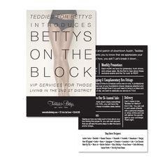 Bettys on the Block // Flyer - freelance graphic designer   kelli williams
