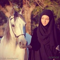 Sometimes you may be surprised what other women are doing ; all over the world they should ride horses :)