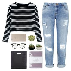 YOU MAKE ME LOVE THE PAIN by nxstalgia on Polyvore featuring WithChic, Miss Selfridge, 3.1 Phillip Lim, Spitfire, Laura Ashley and Crate and Barrel