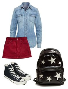 """Untitled #95"" by kamishiro-rize on Polyvore featuring Polo Ralph Lauren, Marc Jacobs, Converse and STELLA McCARTNEY"
