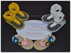 Crafts by Momaye: Crochet Sandals 2