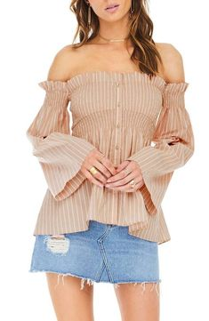 ASTR the Label Shelby Off the Shoulder Top  5be308f7daa1c