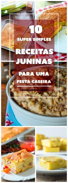 10 Receitas de Festa Junina para uma festa caseira • Cozinha Legal
