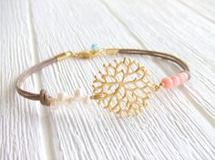 Seaside Coral Branch Jewelry Bracelet, 16K Gold Plated, Wedding Beach, Freshwater pearls, Coral Beads, Sea Shore