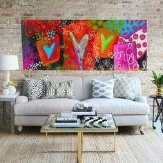 "Pamela Awad on Instagram: ""Grabado enmarcado. 150 x 90 cm disponible"" Pamela, Love Seat, Couch, Instagram, Furniture, Home Decor, Printmaking, Budget, Paintings"