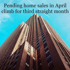 Pending home sales index hit 116.3 in April its third straight monthly climb. The index is 4.6% higher than it was a year ago. #NARPHS  #realtor #realtorproblems #sold #realestate #hgtv #openhouse #closing #home #realty #hardwork #inspiration #business #homes #realestateagent #homeowner #buyers #homebuyer #homesearch #buy #real #selling #dream #renters #rent #buyer by narresearch