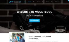 Best One Page WordPress themes First Page, Web Design Inspiration, Wordpress Theme, Modern, Blog, Trendy Tree
