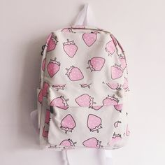 "Strawberry backpack- click the link for more cute looks and use this coupon code ""Douniaabnaamar"" to get all 10% off,Sponsor Review and Affiliate Program open there!"