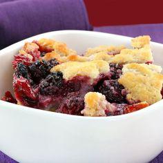 Strawberries, raspberries and blueberries create a Northwest favorite.