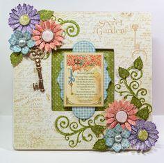 spellbinderscreativearts.com | Embellished Dreams: Secret Garden Jewel Floral Frame