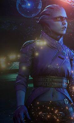 Peebee from Mass Effect Andromeda
