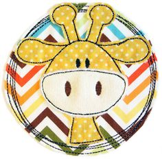 ★ Doodle Button Giraffe ★ Width x height of the motif: x embroidery format . Sewing Machine Embroidery, Free Motion Embroidery, Embroidery Files, Embroidery Designs, Sewing Appliques, Applique Patterns, Patch Aplique, Tree Quilt, Baby Quilts