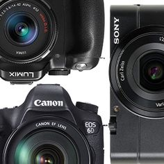 From simple compact models up to full-featured digital SLRs, here's a look at the top cameras we've tested recently..