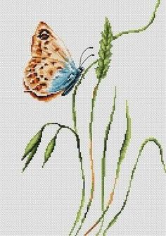 This cross stitch kit accurately captures the shades and striking appearance of the Summer butterfly. An ideal embroidery kit if you want to. Butterfly Cross Stitch, Cross Stitch Fabric, Cross Stitch Kits, Cross Stitch Designs, Latch Hook Rug Kits, Spirit Of Summer, Tapestry Kits, Orange Butterfly, Spring Landscape