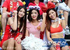Wowow! Ini Dia Para Suporter Seksi Korea Selatan Di Piala Dunia 2014