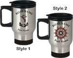 Stainless Steel Travel Coffee Mugs (Set of 4)