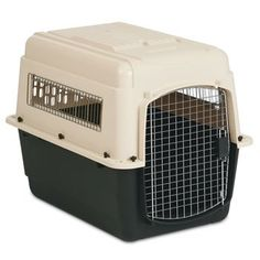 Petmate Ultra Vari Dog Kennel 32' (32' L X 22.5' W X 24' H) For Pets 30-50 lbs. * Don't get left behind, see this great  product (This is an amazon affiliate link. I may earn commission from it)