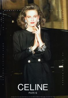 An assorted box of decadent & fashion editorials, scans, & models tied with a pink neon ribbon! 80s And 90s Fashion, Fashion Week, Retro Fashion, Runway Fashion, High Fashion, Vintage Fashion, Fashion Outfits, Celine, Lauren Hutton
