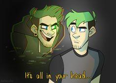 All In Your Head by cartoonjunkie