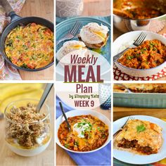 Slimming Eats Weekly Meal Plan - Week 9. Slimming World meal plans brought to you by Slimming Eats. All you have to do is enjoy the delicious food.