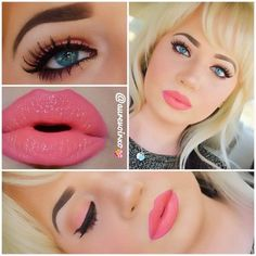 She isnt the prettiest, but love the shade of lipstick and the eye makeup looks good tooo.