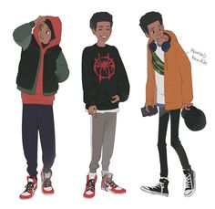 Miles from Spider-Man into the Spider-Verse