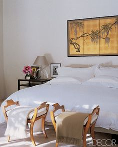 12+Chic+Bedroom+Decorating+Ideas+That+(ALSO!)+Make+For+A+Better+Night's+Sleep  - ELLEDecor.com