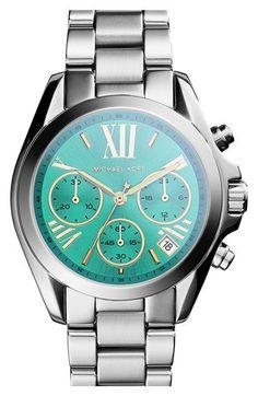 Michael Kors 'Bradshaw - Mini' Chronograph Bracelet Watch, 36mm | Nordstrom