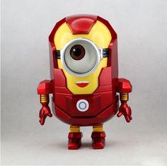 Good Morning Minions, Animation Movie, Cosplay, Iron Man, Minion Christmas, Xmas, Famous Superheroes, Despicable Me 2 Minions, Minion Stuff