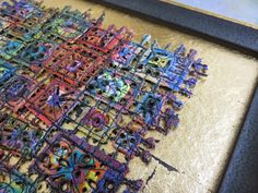 Art In Stitches: On Gold and other things