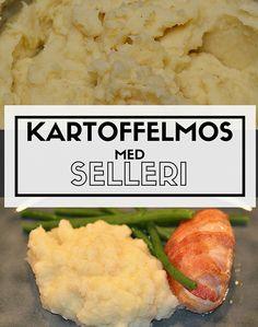 Himmelsk cremet kartoffelmos med en lækker tilføjelse i form af selleri. Det er bare så godt!